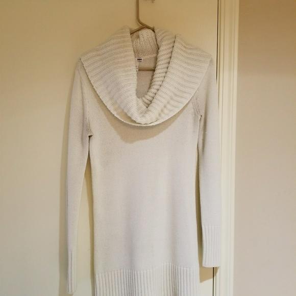 ece5d532314 H M Sweaters - Cream Cowl Neck Sweater dress